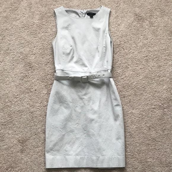 7f84aec8 J. Crew Dresses | Jcrew Petite Belted Sheath Dress In Stretch Cotton ...